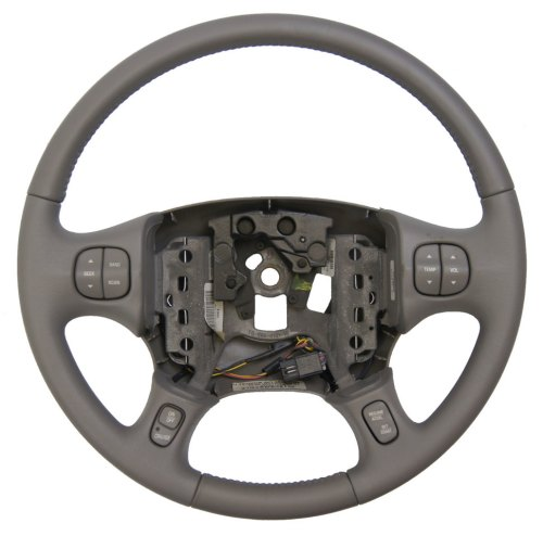 small resolution of 2000 2005 buick lesabre steering wheel med grey leather new w cruise audio temp