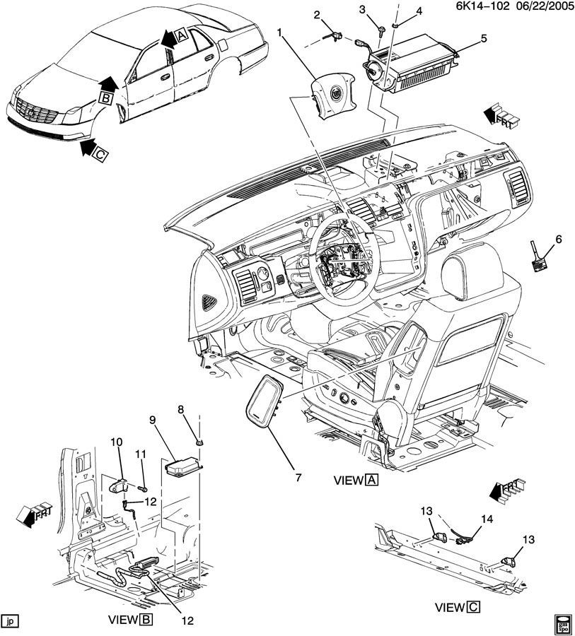Service manual [How To Replace Airbag 2010 Cadillac Cts