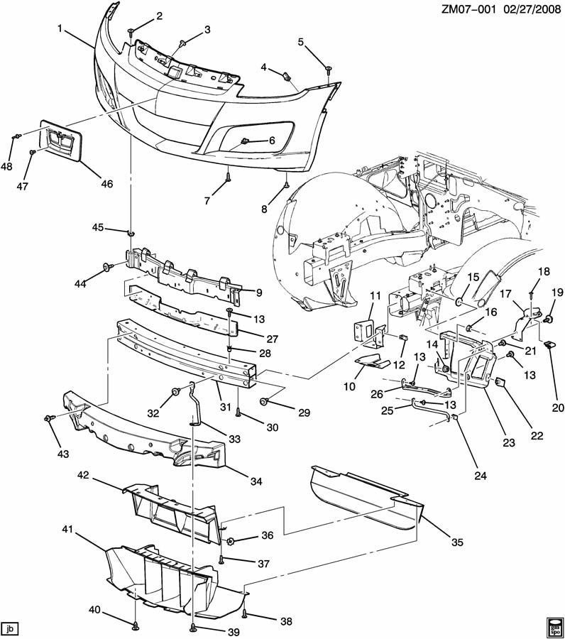 Pontiac Solstice Trunk Diagram