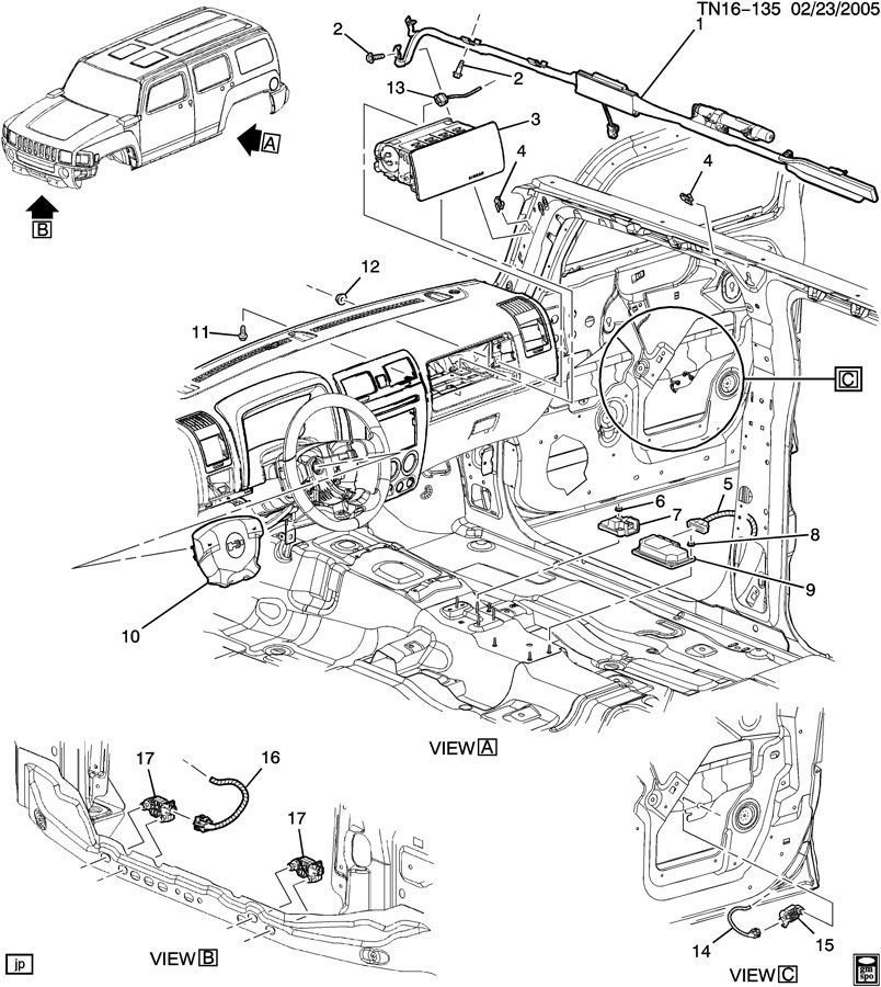 Service manual [How To Remove 2006 Hummer H2 Steering
