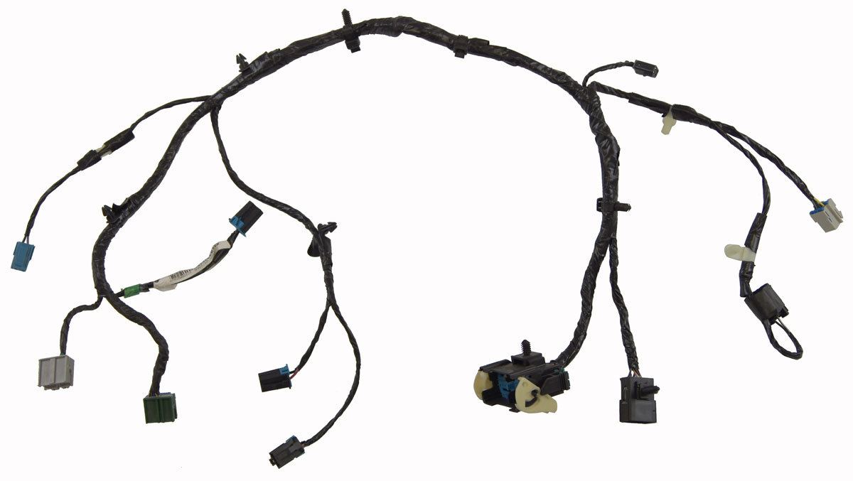 2008-2009 Hummer H2 Floor Console Wiring Harness New OEM