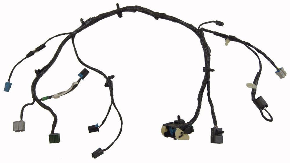 medium resolution of 2008 2009 hummer h2 floor console wiring harness new oem 25828438