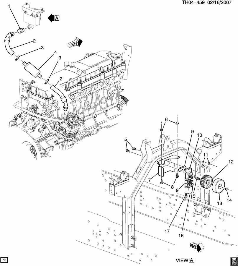 2007-2009 Topkick/Kodiak T6500-T8500 Air Brake Compressor