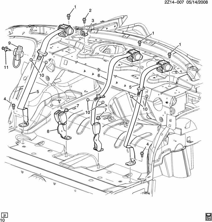2008 Pontiac G6 Seat Parts Diagram. Pontiac. Auto Wiring