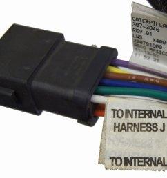 caterpillar engine wire harness new oem 307 3846  [ 1200 x 943 Pixel ]