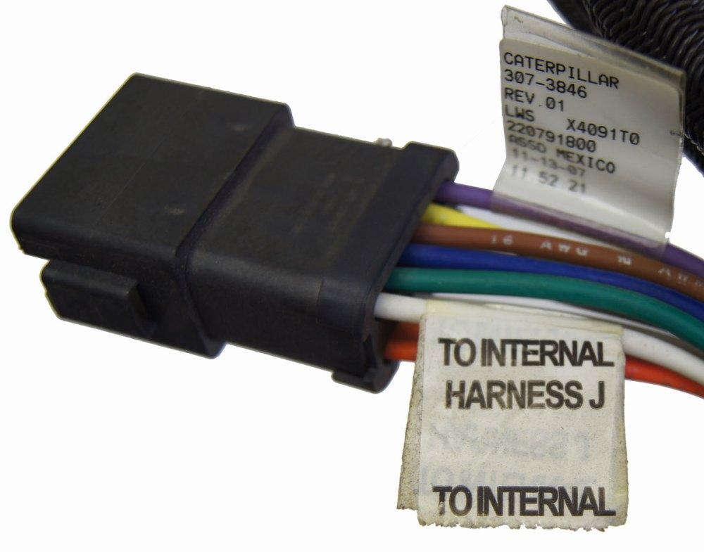 medium resolution of  caterpillar engine wire harness new oem 307 3846
