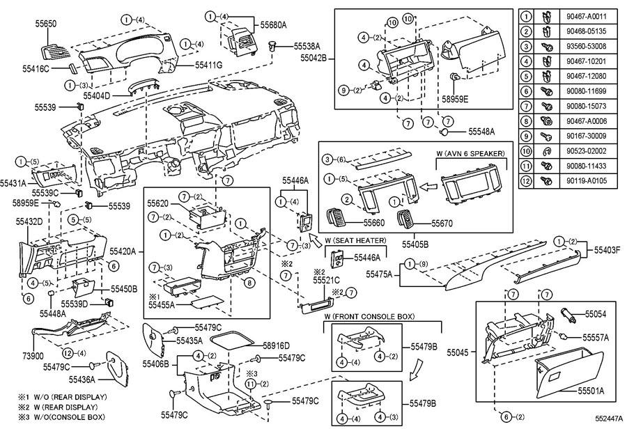 2011-2014 Toyota Sienna Dash Trim Panel RH Tan New OEM