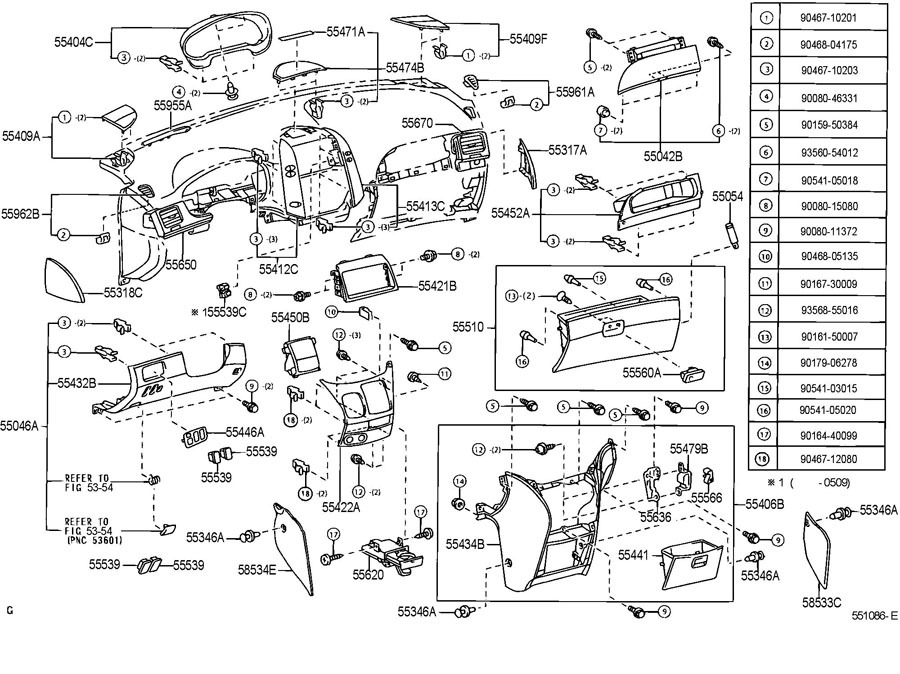 2009-2010 Toyota Sienna Left LH Dash Switch Panel Fawn Tan