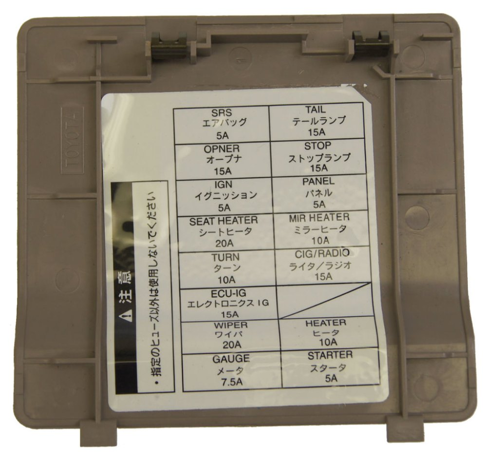 medium resolution of 1995 toyota avalon fuse box diagram wiring diagrams second1995 toyota avalon fuse box wiring diagrams konsult