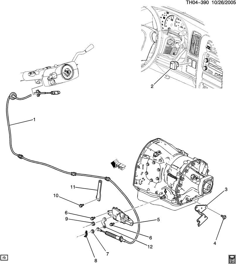 03-09 Topkick/Kodiak C4500-C8500 Transmission Overdrive