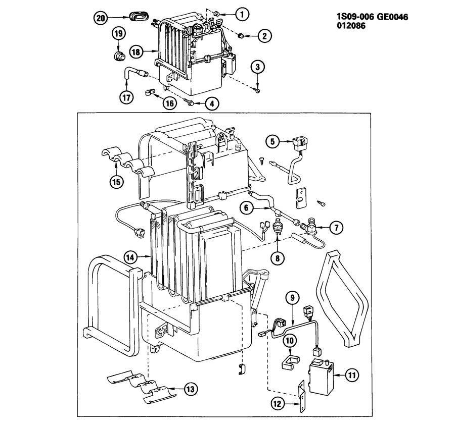1985-1988 Chevy/Geo Nova Prizm A/C Low Pressure Switch New
