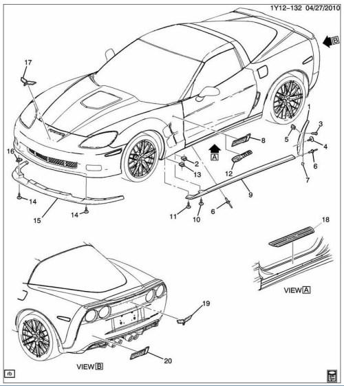small resolution of  corvette c6 carbon fiber edition z06 zr1 grand sport rockers skirt pair kit