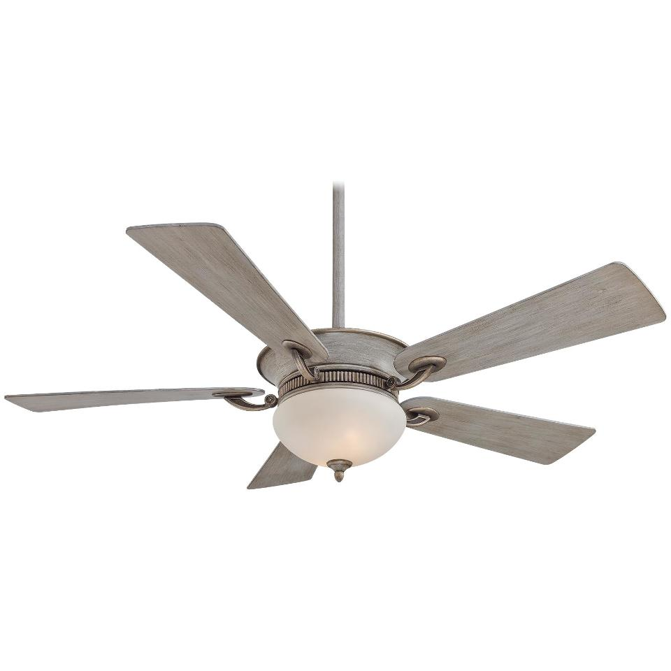 "Minka Aire F701drf Delano Driftwood 52"" Ceiling Fan W"