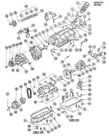 1987-1995 Chevy Camaro Pontiac Firebird V6 Crank Pulley