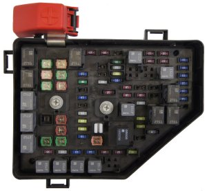 2010 Buick Enclave Saturn Outlook Chevy Traverse Fuse Box Block New OEM 20832836 | Factory OEM Parts