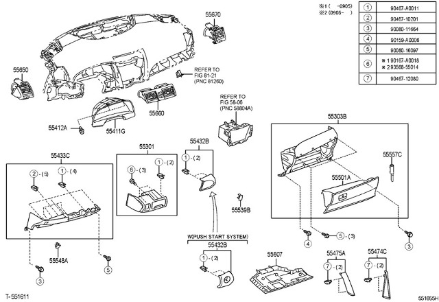 Ventalation 2007 Toyota Camry Diagram. Toyota. Auto Parts