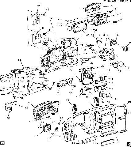2003-2009 GMC Topkick/Chevy Kodiak Differential Lock