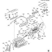 97-04 Corvette C5 ACDelco Spark Plug Wire W/Heat Shield