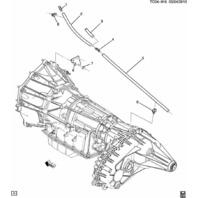 GM Trucks Hummer H2 6 Speed Auto Transmission Vent Hose