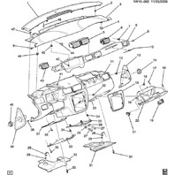 2006-14 Chevrolet Impala/Limited Steering Column Lower