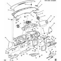 2006-2014 Chevy Impala/Limited & Monte Carlo RH Dash