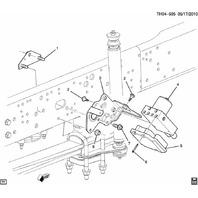 2004-09 Topkick/Kodiak C4500 ABS Electronic Control Module