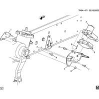 Topkick Kodiak GM Medium Duty ABS Control Brake Module