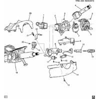 Buick Regal Verano Chevy Cruze Turn Signal Arm New OEM