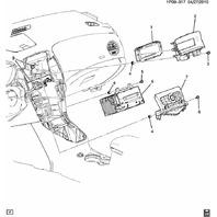 2012-2013 Buick Verano Regal Chevy Equinox Cruze Radio W