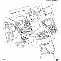 GM Satellite Radio Receiver New Model GA-130-COLR-NS