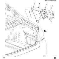2006-2014 Chevrolet Impala Fuel Pump Control Module W