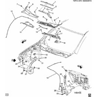 2006-14 Chevy Impala Windshield Wiper Motor & Arm Assy New