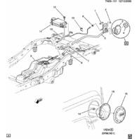 2009-2010 Hummer H3 Fuel Filler Neck Assembly 25873216 V8