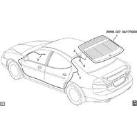 2007-2014 Chevy Impala/Monte Carlo Power Radio Antenna