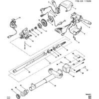 1997-2004 Chevy Corvette C5 Steering Wheel Column Lock