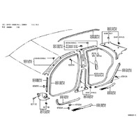 62101aa010g0 1997 2001 toyota camry right front floor kick panel new oem grey 62101aa010g0 toyota tundra leather steering wheel cover auto electrical wiring