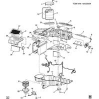 1994-2014 GM HVAC A/C Actuator Control Vacuum Control Used