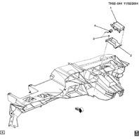 2004-2009 Topkick/Kodiak C/T6500-C/T8500 Body Control