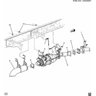 ACDelco 213-4249 GM Original Equipment Position 2 Exhaust