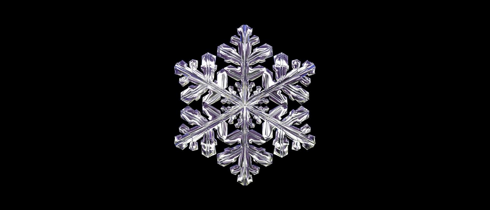 snowflakes symbols of individual
