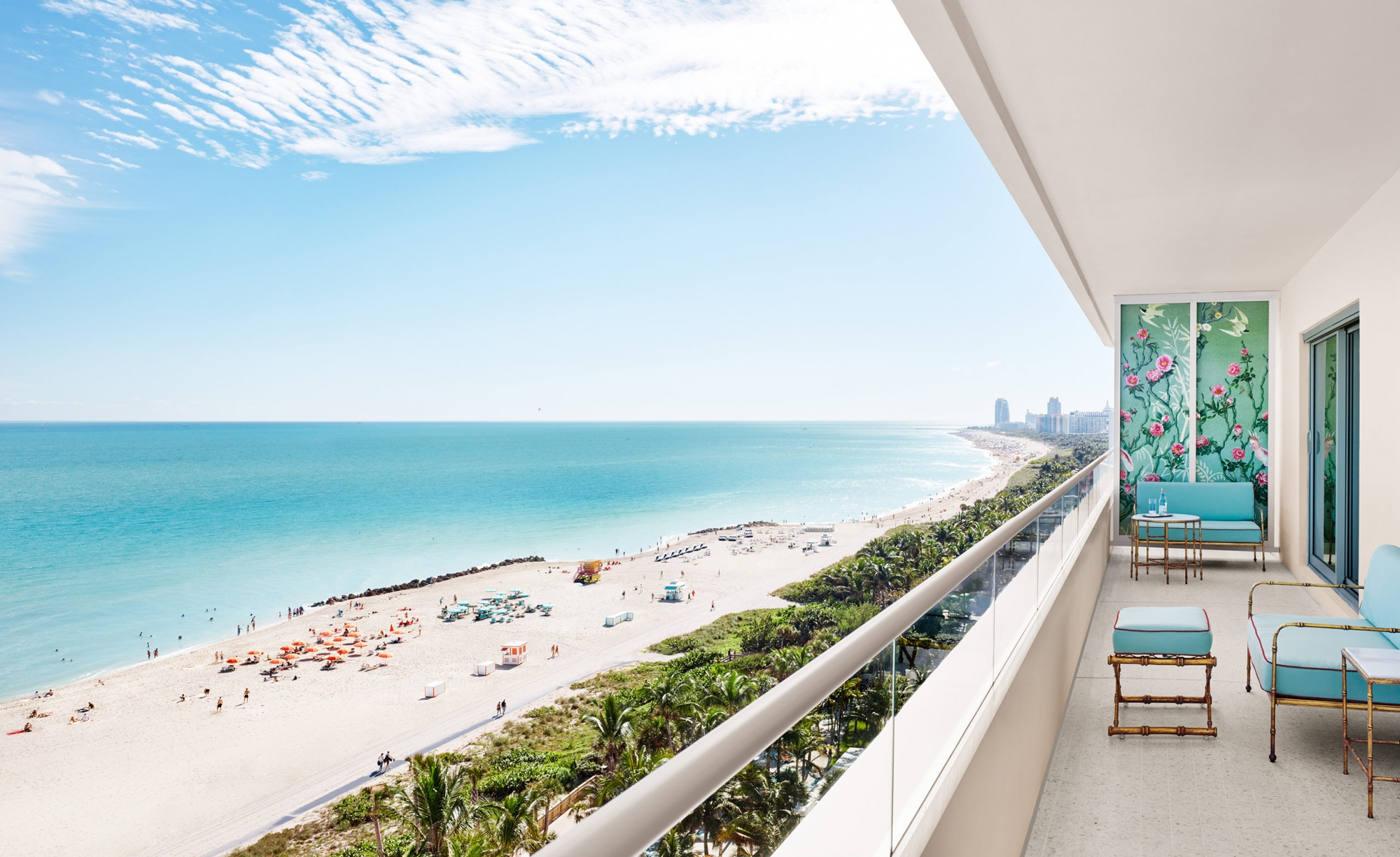hotels in miami with kitchen moen chateau faucet the penthouse residences at faena hotel beach
