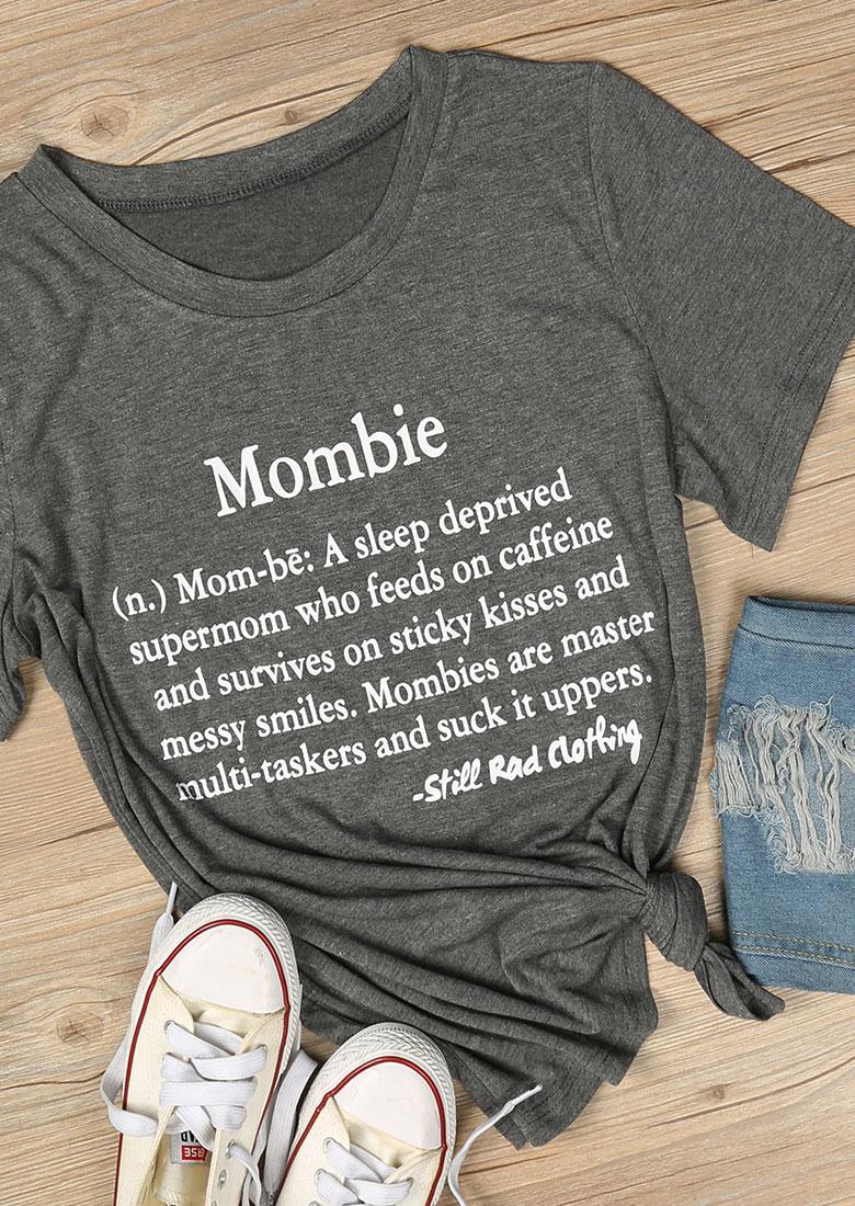 Mombie ONeck TShirt  Fairyseason