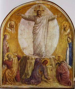 Beato Angelico, Trasfigurazione di Gesù