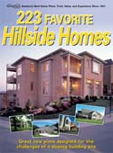 Hillside House Plans Book