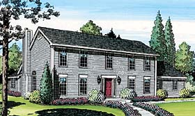 View this Saltbox Home Plan