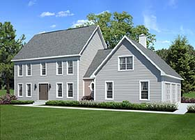 Click to View This Colonial Style Home Plan