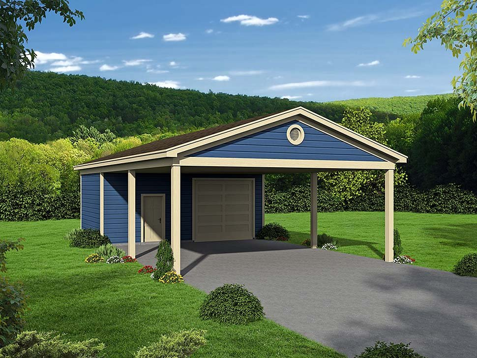 Garage Plan 51673 3 Car Garage Tudor Style
