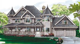 CLick to view this Victorian House Plan