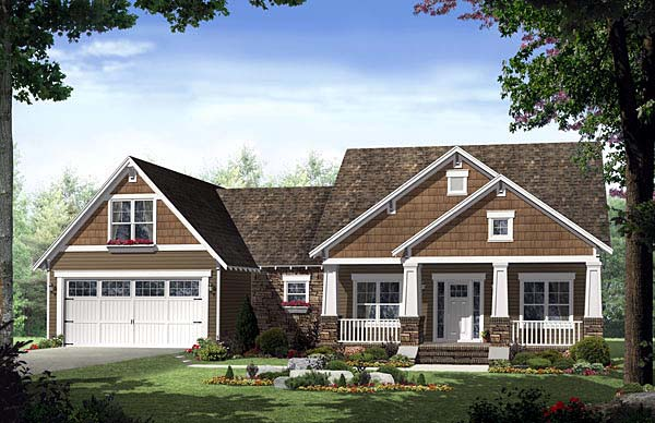 House Plan 55600 At FamilyHomePlans.com
