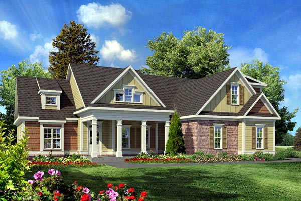 House Plan 58231 At FamilyHomePlans.com